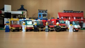 Vans in der LEGO® City