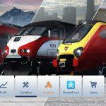 RailWorks - Hauptmenü