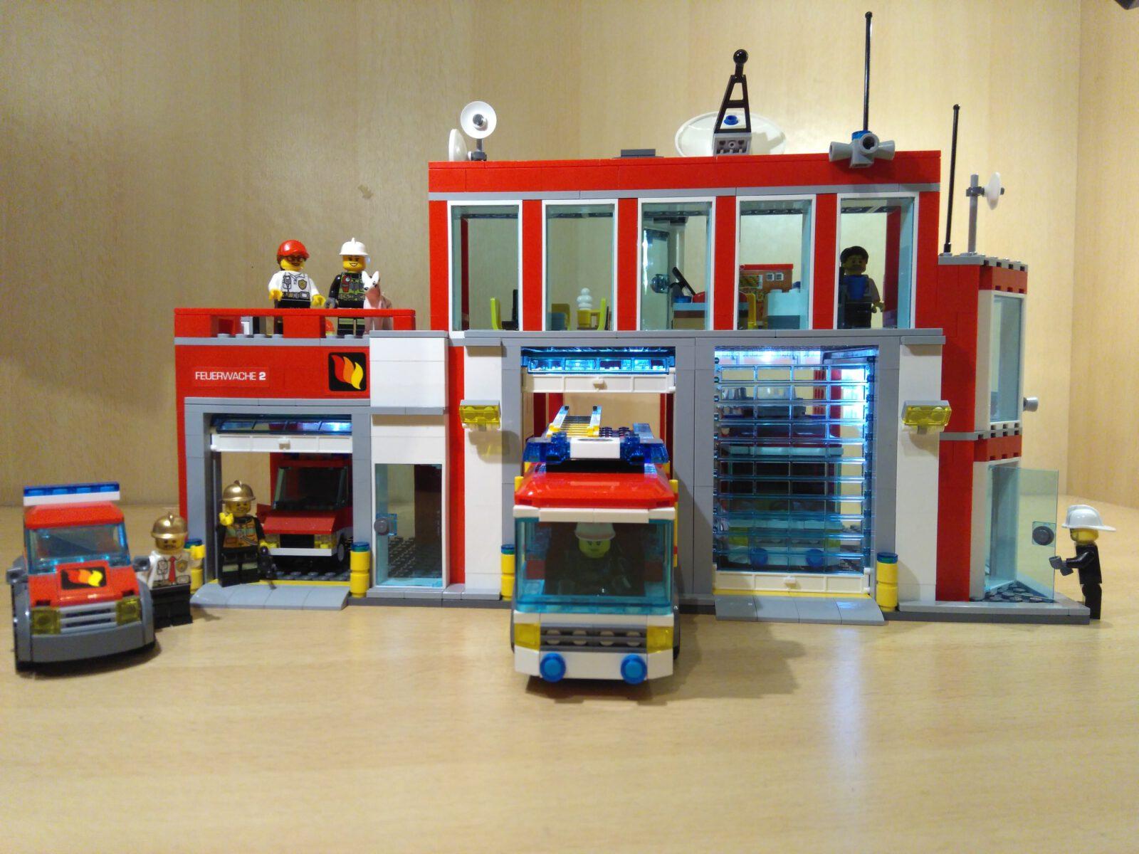 LEGO® Feuerwache 2 MOC