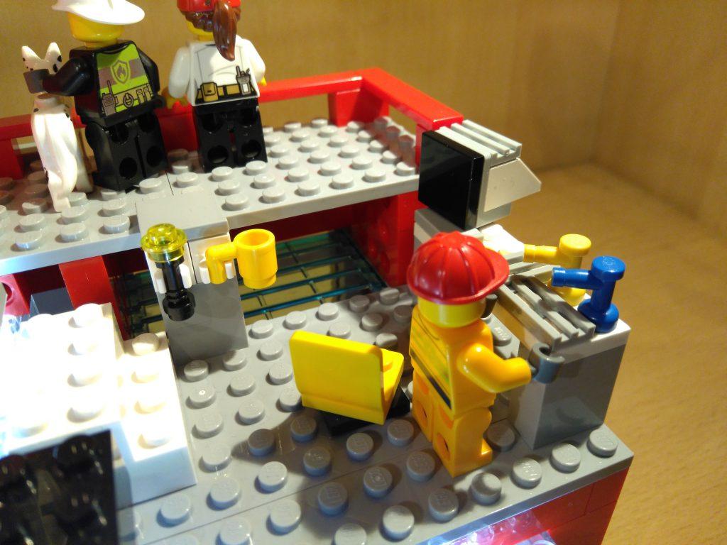 LEGO® Feuerwache 2 MOC - Werkstatt