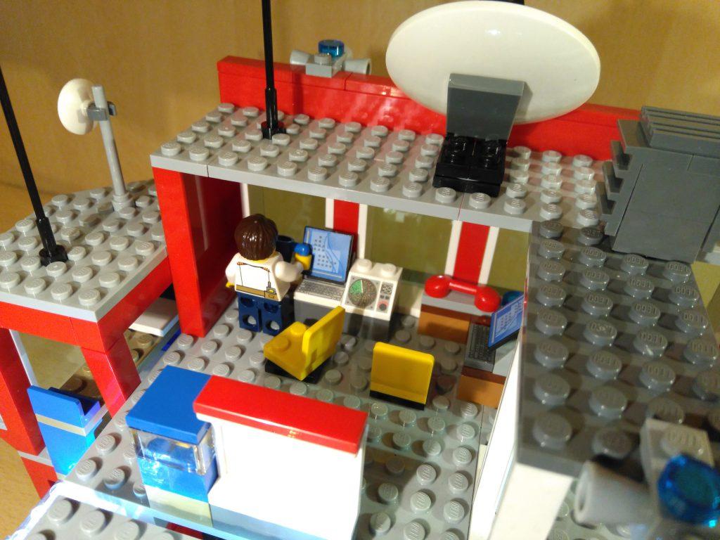 LEGO® Feuerwache 2 MOC - Büro
