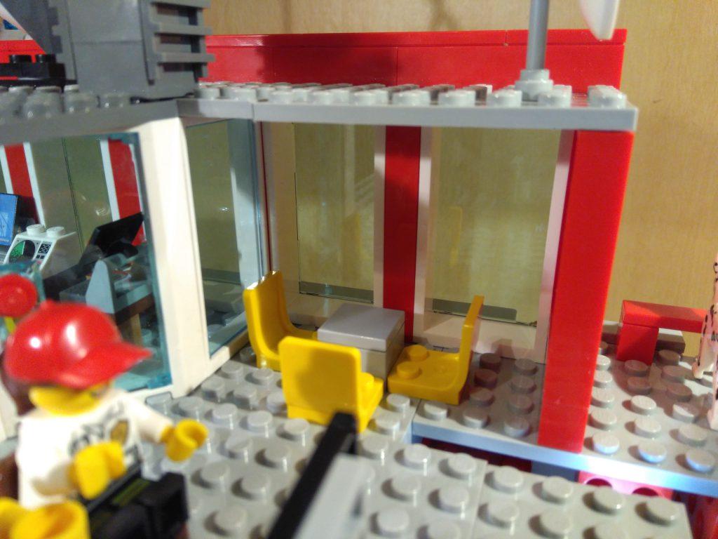 LEGO® Feuerwache 2 MOC - Sitzgruppe