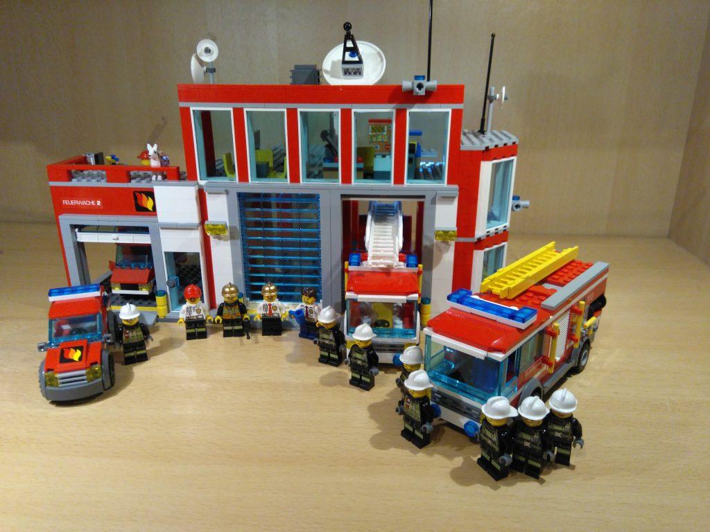 LEGO® Feuerwache 2 MOC - Übersicht