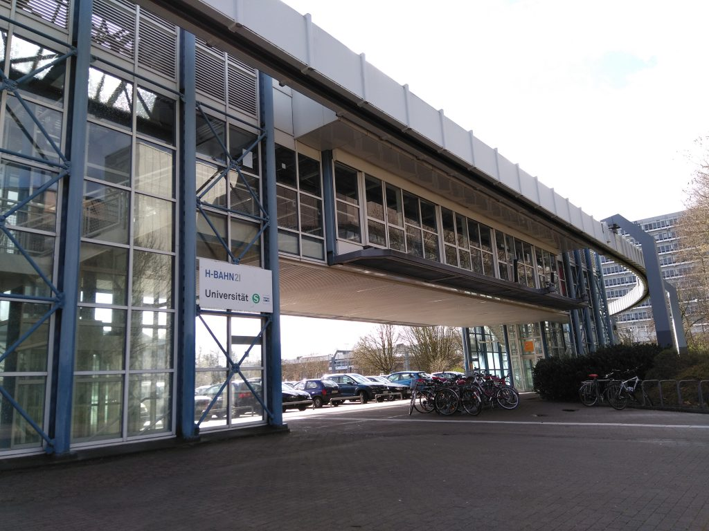 H-Bahn Dortmund - Station S-Bahn